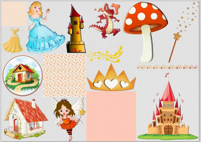 Princess and Fairytale Clipart.
