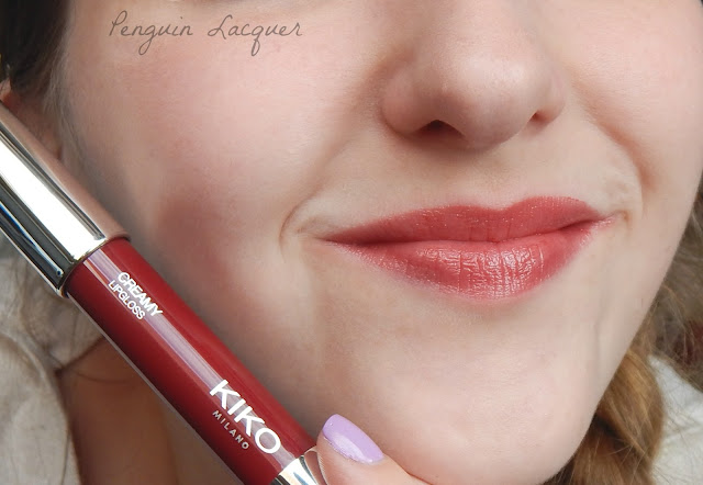 Kiko Creamy Lipgloss 113 with stick