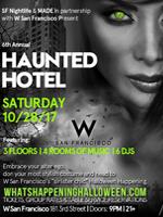 Haunted Hotel | W San Francisco Halloween 2017 Tickets