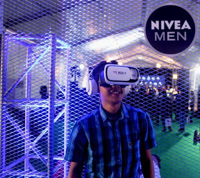 Virtual Reality Booth dalam Festival Sepak Bola NIVEA MEN