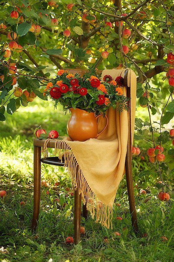 Fall's It Color: Marigold
