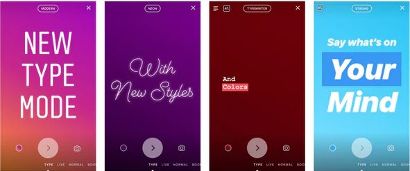 Mengapa Fitur Type Tidak Muncul di Instagram?