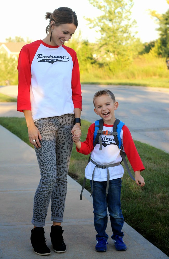 ONE little MOMMA back to school