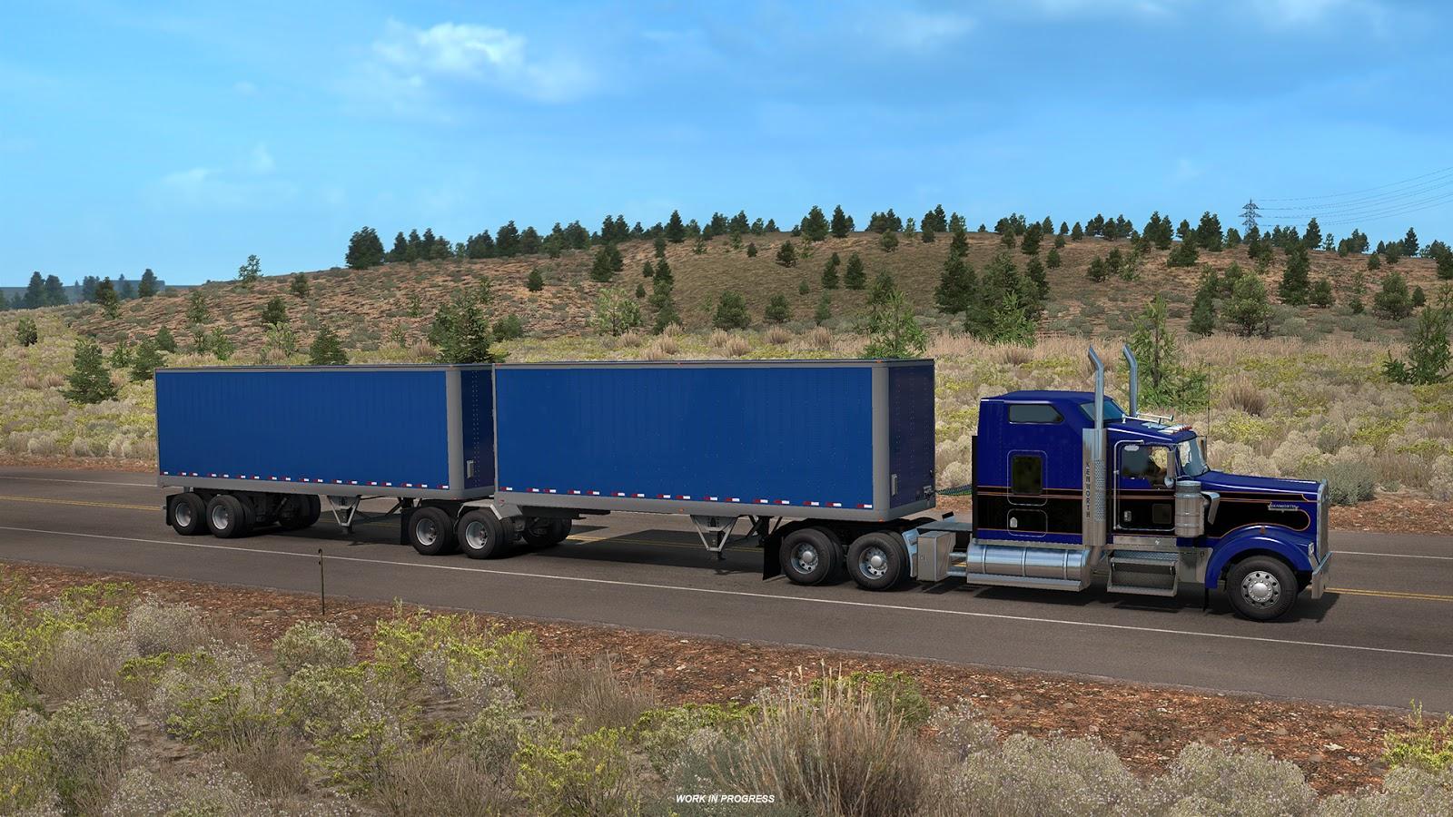 SCS Software's blog: Trailer News Part 1: American Truck