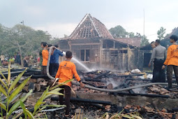 Ditinggal Rewang, Rumah Warga Kradenan Hangus Dilalap Api
