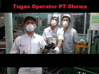 tugas dan bagian operator produksi pt showa indonesia manufacturing