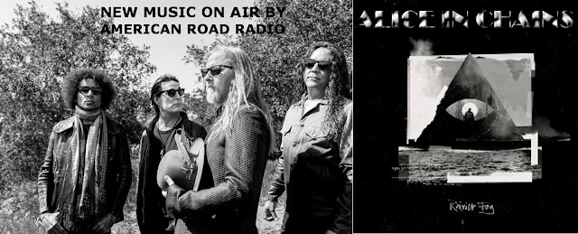 """THE NEW ALBUM BY ALICE IN CHAINS  ON AIR BY AMERICAN ROAD RADIO: """"RAINER FOG"""""""