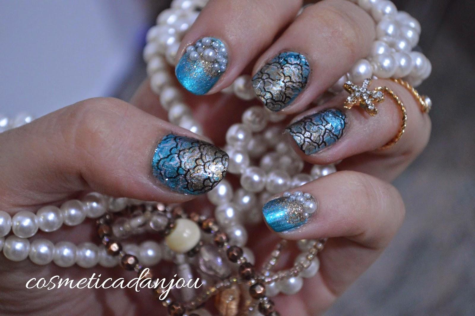 Cosmética D Anjou Mermaid Bubbles Manicure Bp L003