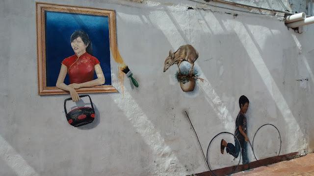 Melaka 3D Street Art