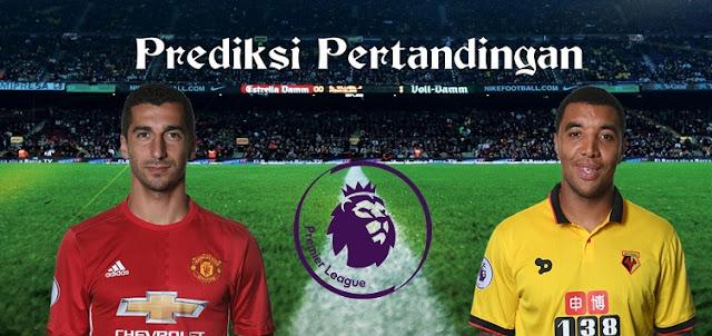 Prediksi Pertandingan Manchester United vs Watford 11 Februari 2017