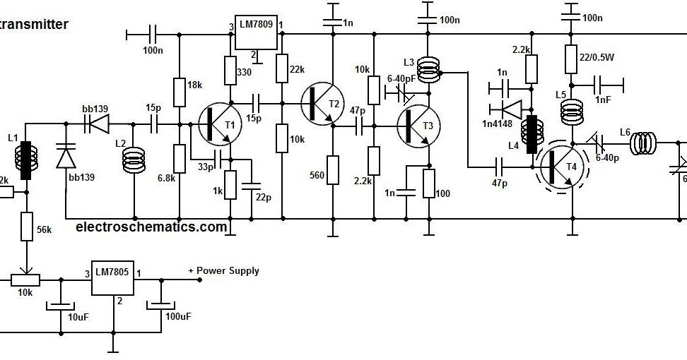 simple r c circuit diagram schematic design