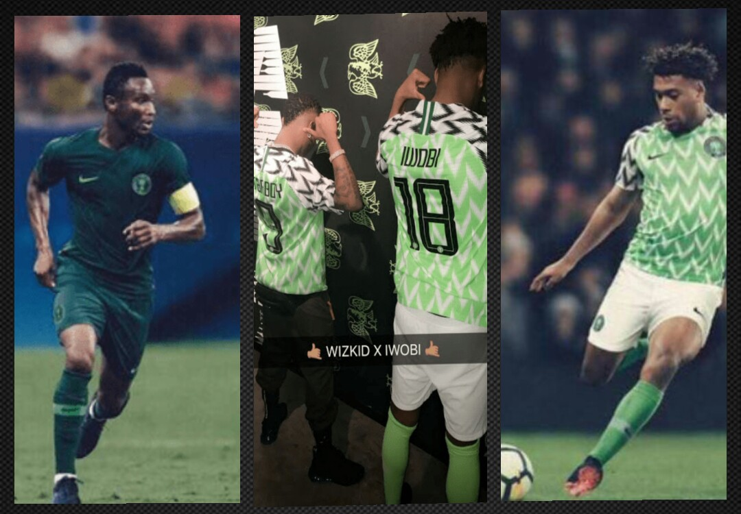 d723fa056b3 Wizkid the Starboy joins Super Eagles players to unveil Russia 2018 ...