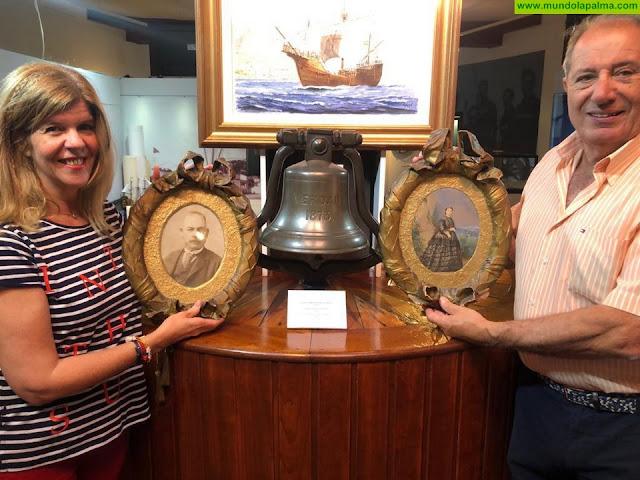 Una nueva donación incrementa el Legado Arozena en el Museo Naval de Santa Cruz de La Palma