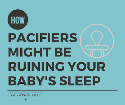 How Pacifiers Might Be Ruining Your Baby's Sleep