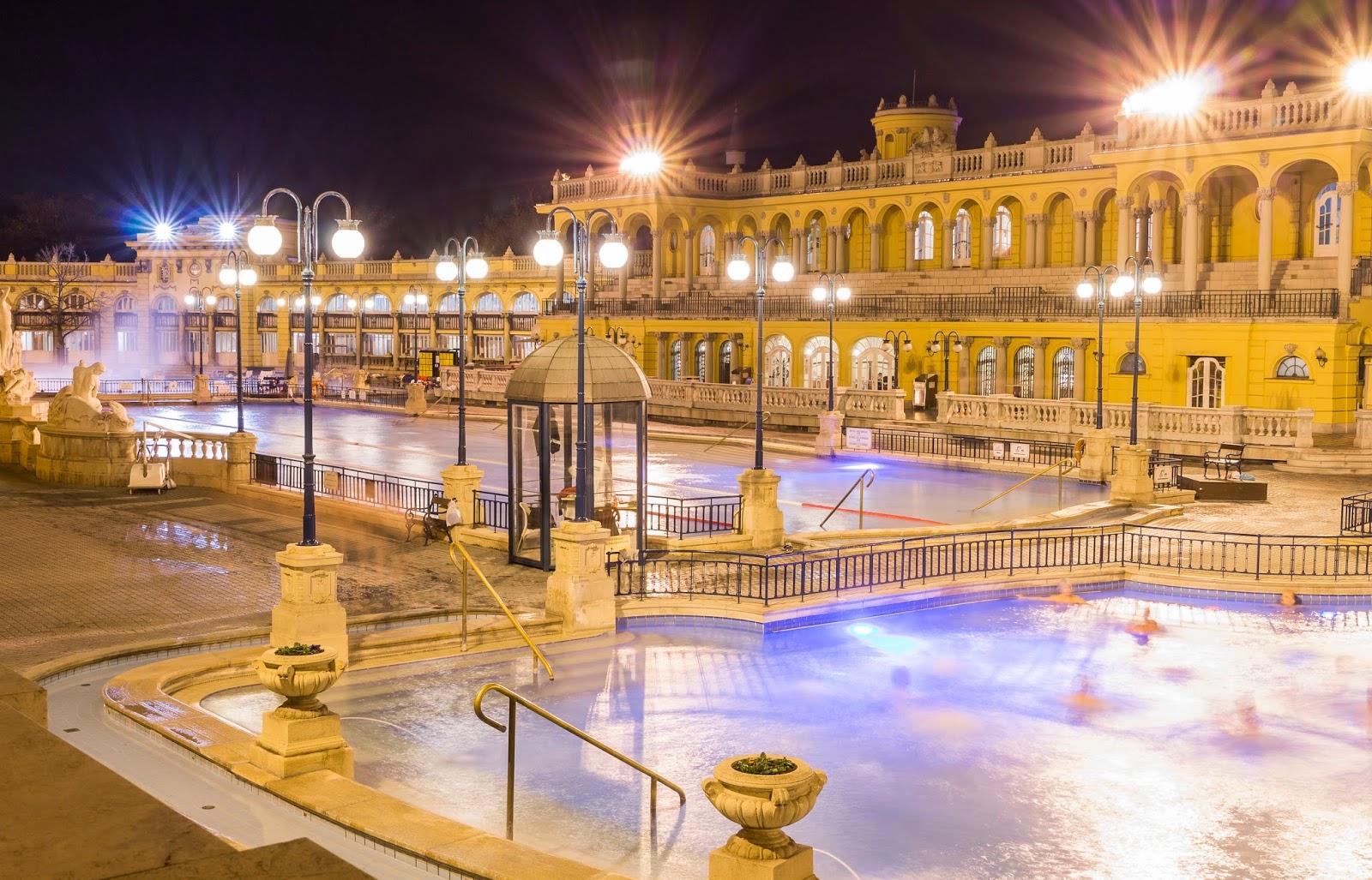 Budapest bains chauds