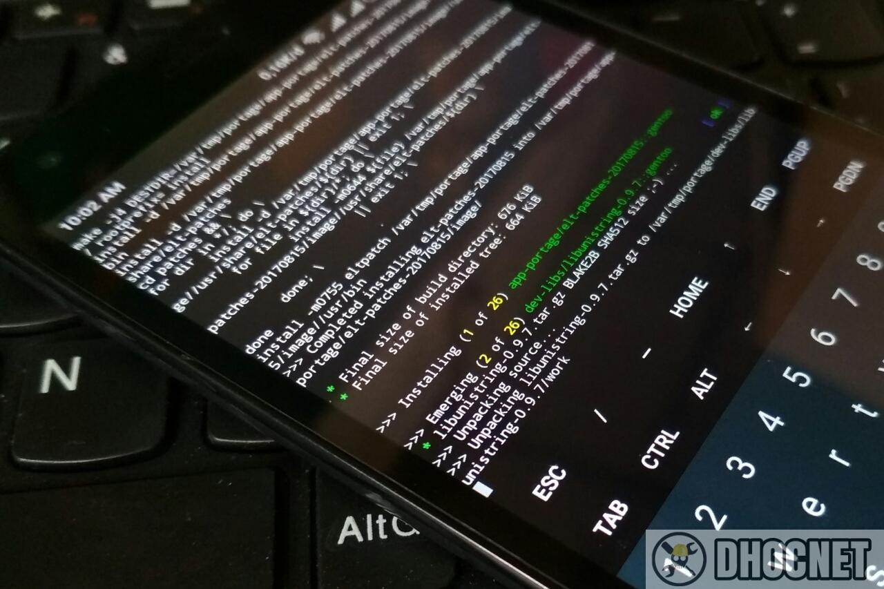 Mengaktifkan Portage Dan GCC Pada Gentoo For ARM