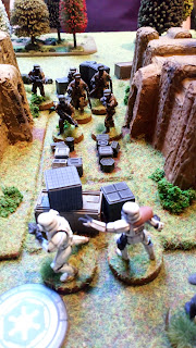 Rebels start to move towards the remaining Stormtroopers