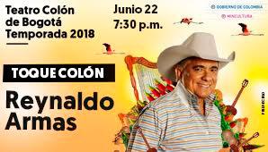 Toque Colón: Reynaldo Armas en Bogotá
