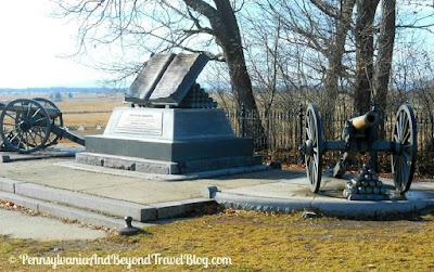 Gettysburg Battlefield - Commands Honored Memorial