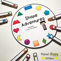Shape Wheels, Planet Happy Smiles