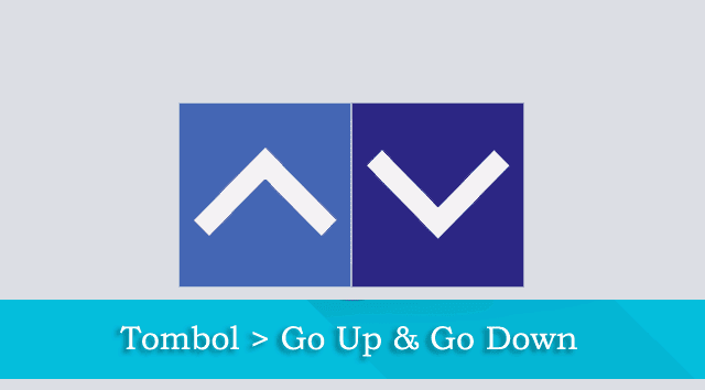 Tutorial Cara Memasang Tombol Go Up & Go Down di Blog