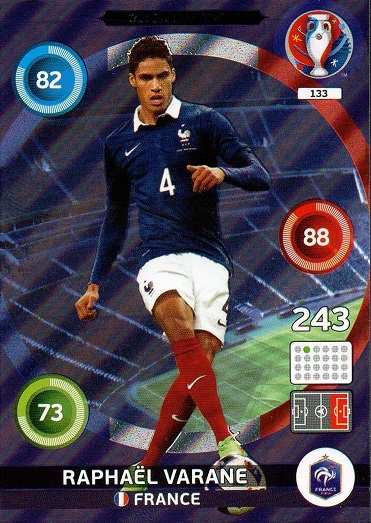 Panini Adrenalyn em euro 2016-Inglaterra España todas las tarjetas nº 82-135 France