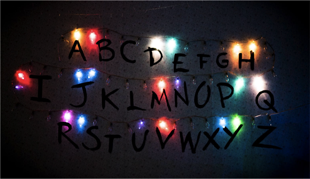 Stranger things wall