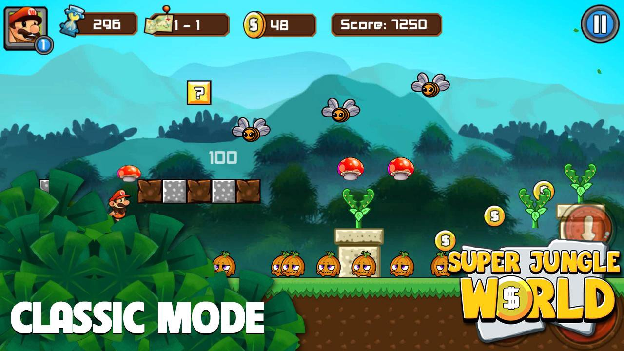 jungle adventures of mario mod apk download mod free full download unlimited money