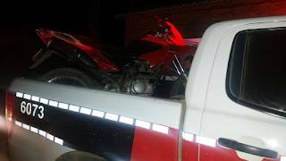 Homem tem moto roubada em Nova Floresta; Polícia recupera veículo durante perseguição