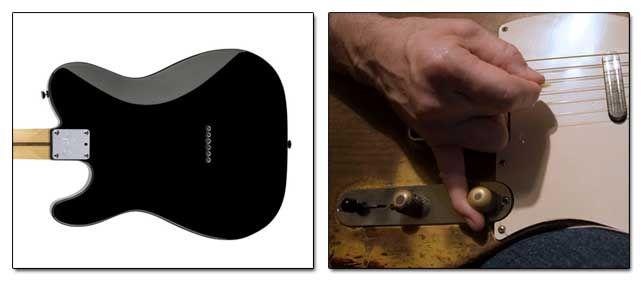 Rebaje en la Madera y Modificación de los Controles de la Telecaster
