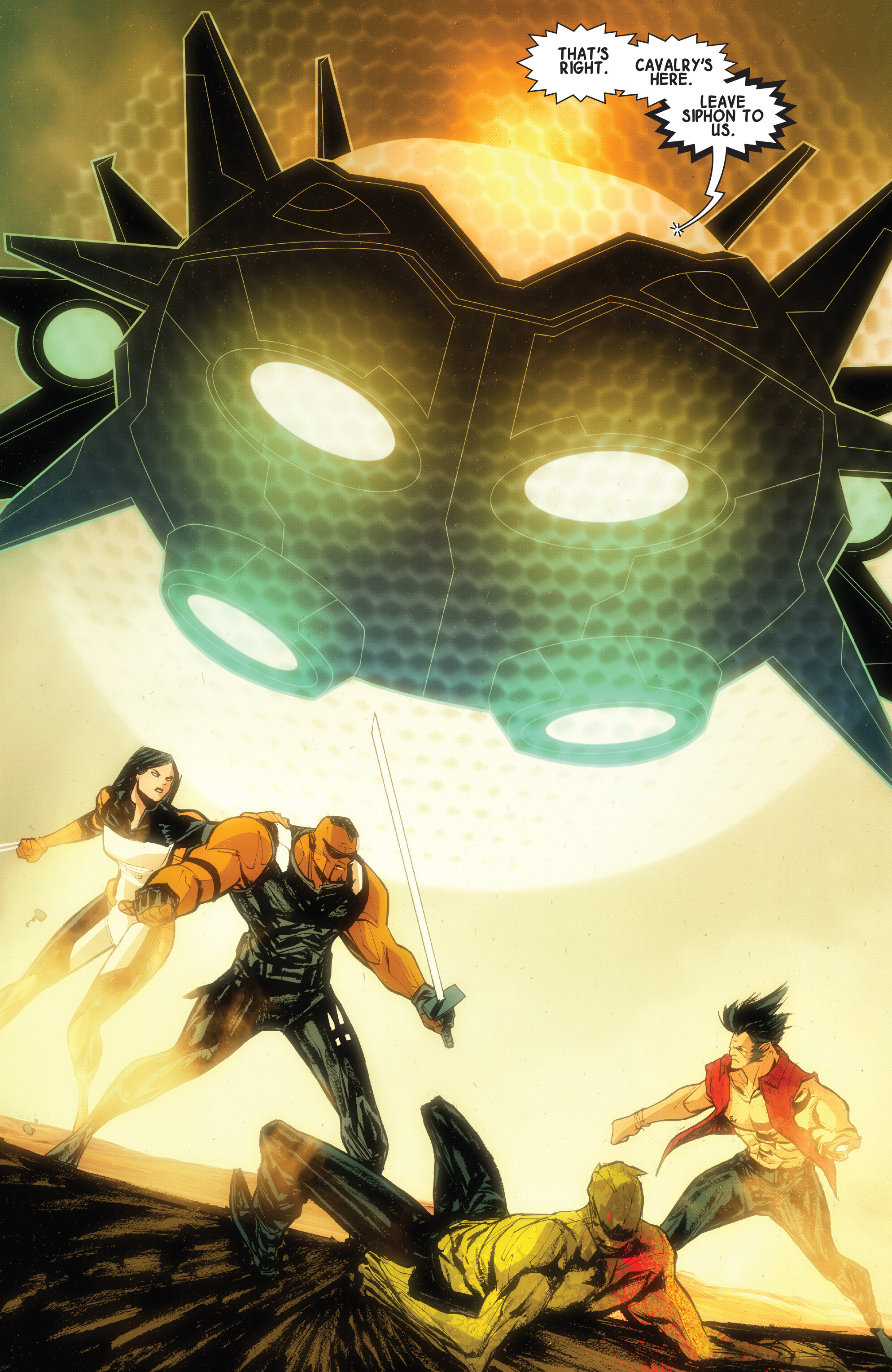Read online Wolverines comic -  Issue #15 - 16