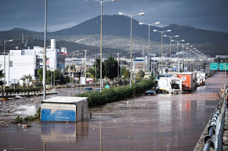 Greece flash floods