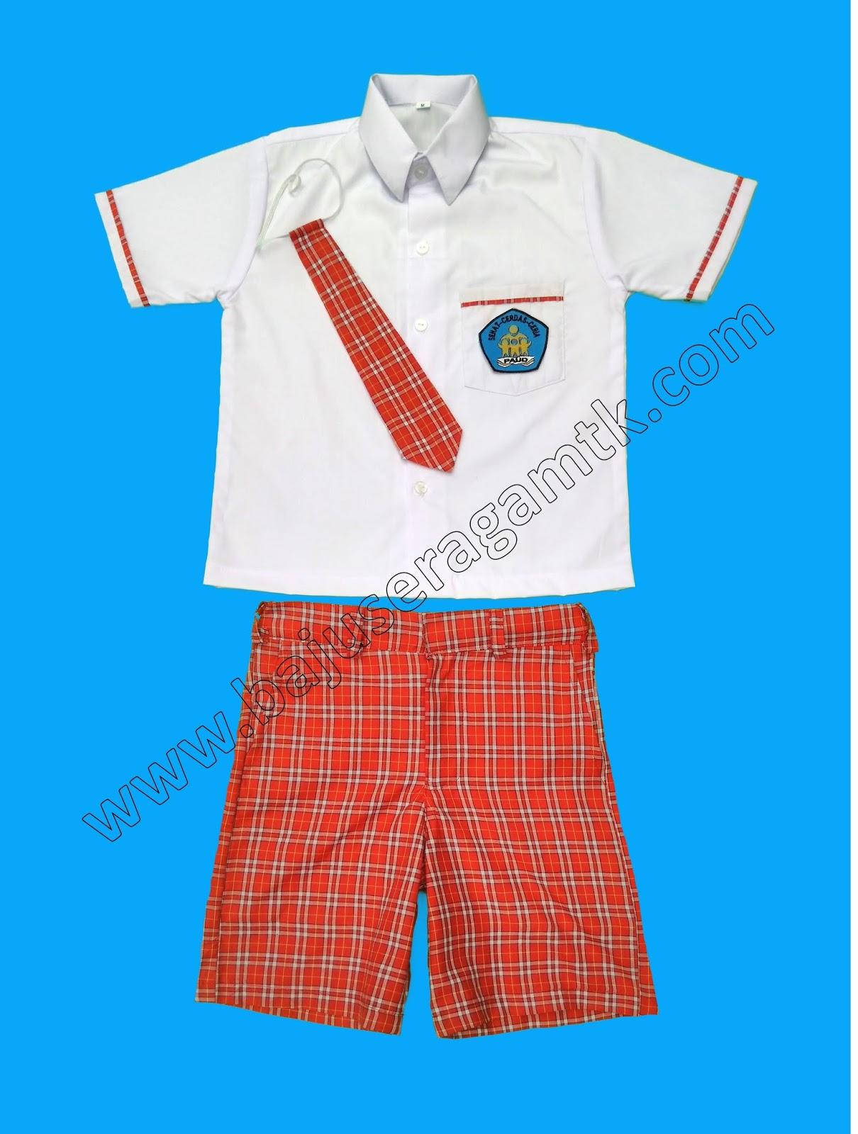 seragam TK PAUD nasional terbaru