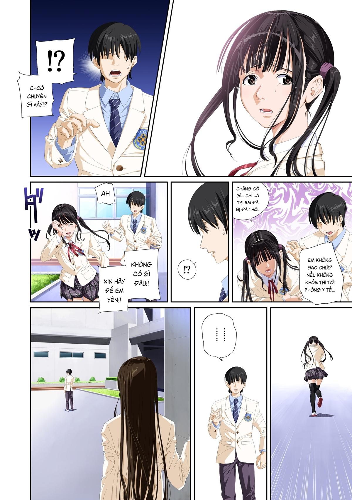 Truyện tranh sex địt em mỹ nhân trường học - Chap 8 - Truyện Hentai