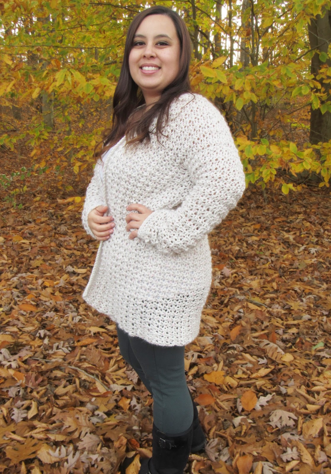 Comfy Cozy Oversized Crochet Cardigan Pattern Poppy Cardigan