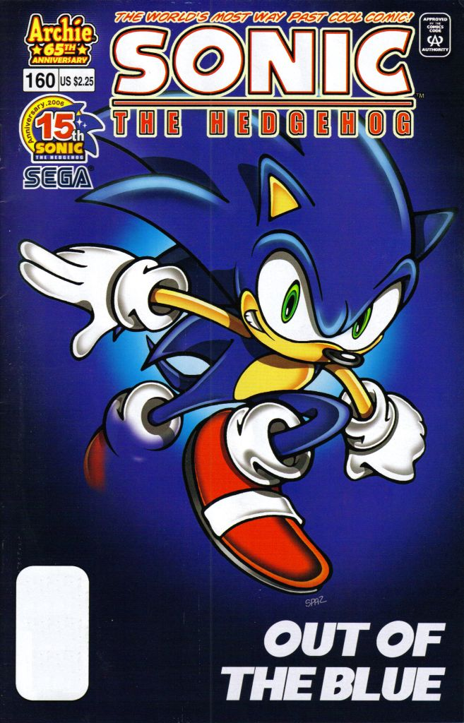 Sonic The Hedgehog (1993) 160 Page 1