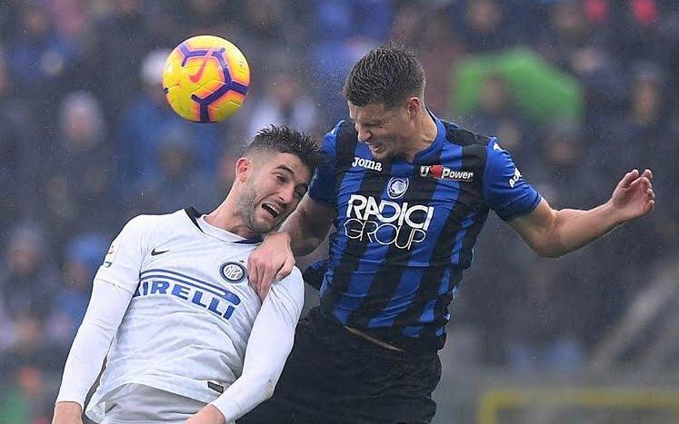 Poker Atalanta contro una brutta Inter. Scappa il Napoli in classifica e stasera c'è Milan-Juventus.