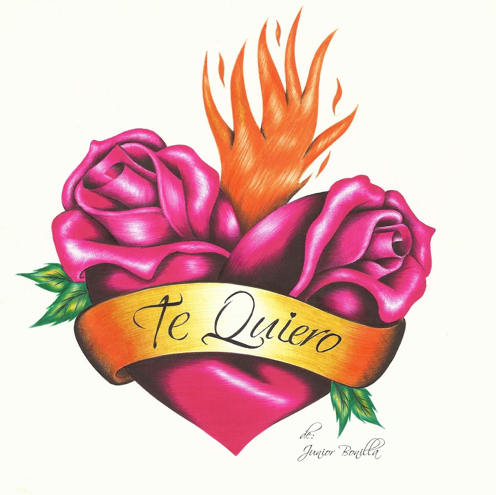 Imagenes De Rosas Que Digan Te Amo
