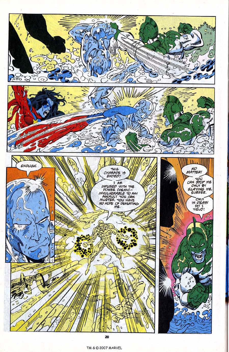 Read online Silver Surfer (1987) comic -  Issue #79 - 22