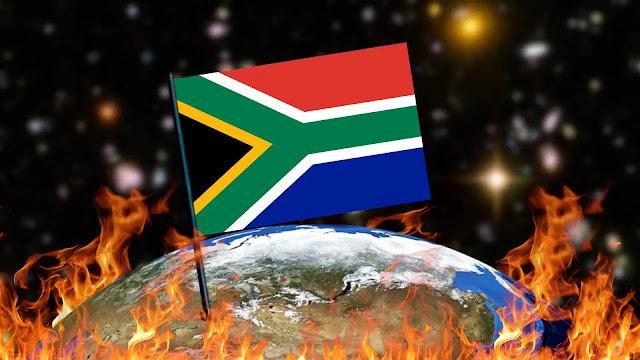 Queimando Bandeiras - África do Sul