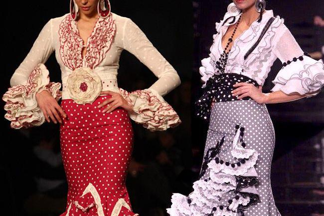 Camisas flamencas blancas