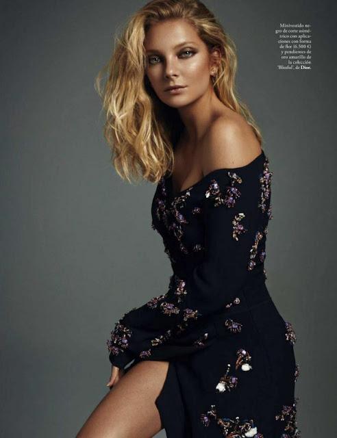 Eniko Mihalik – Elle Magazine