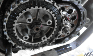 Gambar clutch plate Lc 135