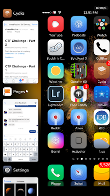 the nice app switcher replacement tweak which allows users to access the new multitasking interface on iOS devices.