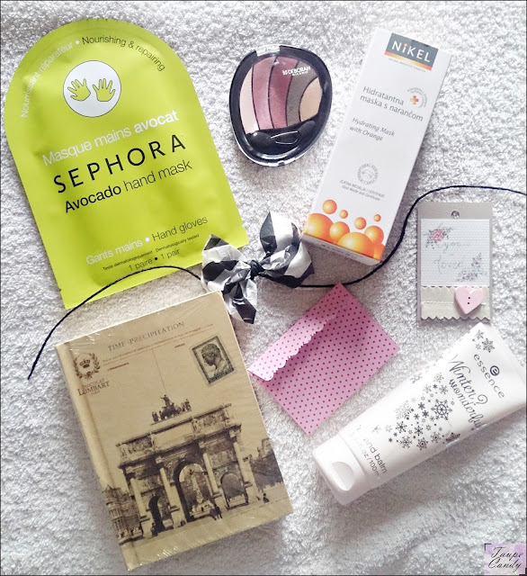 sephora hand mask, deborah paleta senki, nikel maska za lice, essence krema za ruke