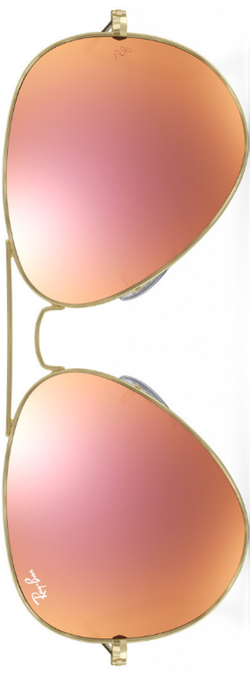 Ray-Ban Aviator Copper Flash