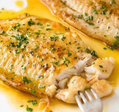 Killer Lemon Butter Sauce for Fish #dinner #meal