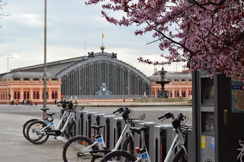 Madrid, Espagne, gare d'atocha