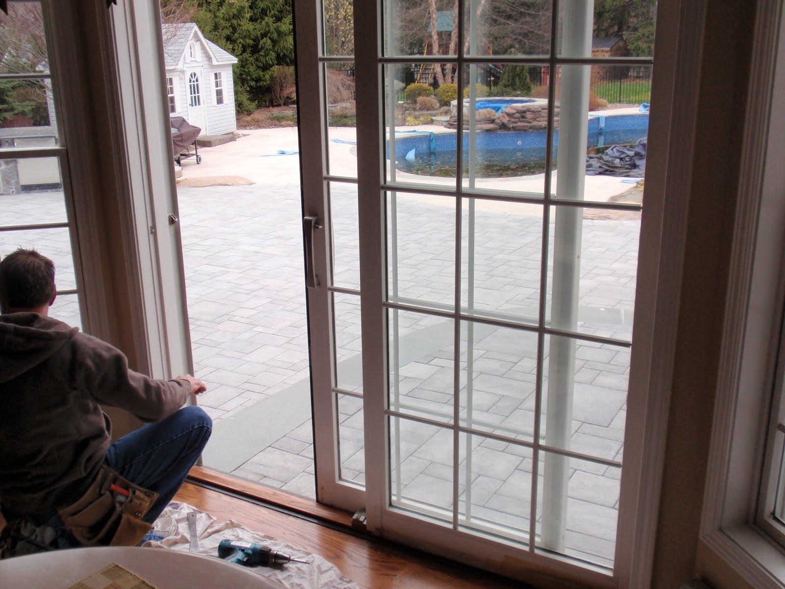 Diy By Design Replacing A Sliding Glass Door