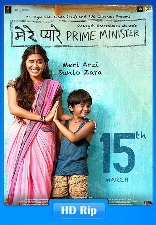 Mere Pyare Prime Minister 2018 Hindi 720p HDRip ESub x264 | 480p 300MB | 100MB HEVC